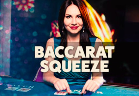Baccarat Squeeze live online