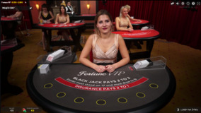 Blackjack na żywo w CasinoEuro