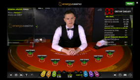 Blackjack na żywo w Energy Casino