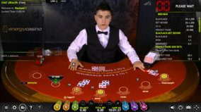 Energy Casino blackjack na żywo